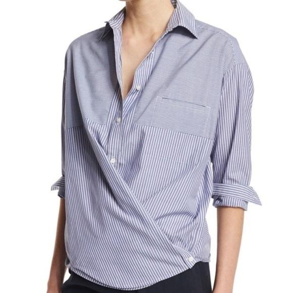 de106575bdfa96 Vince Tops   Buttondown Striped Shirt   Poshmark